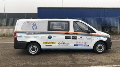 SilverCloud Zorg IoT sponsort bus TICOhuis